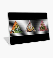 Black Stripes Tentacle Laptop Folie