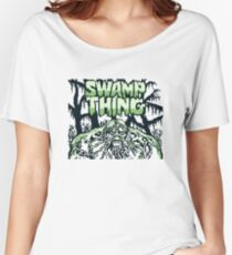 Swamp Thing gameboy Women's Relaxed Fit T-Shirt