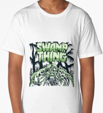 Swamp Thing gameboy Long T-Shirt