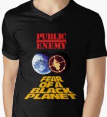p.e. fear of a black planet Men's V-Neck T-Shirt