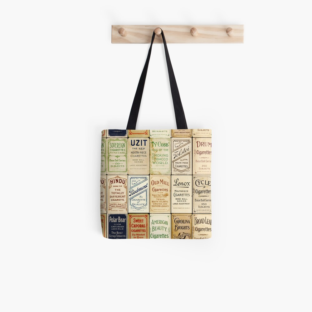 The T206 Baseball Cards Collector design! Tote Bag