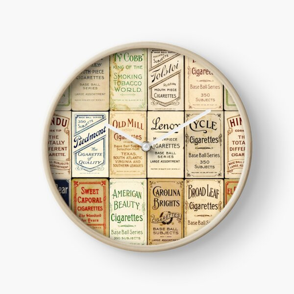 The T206 Baseball Cards Collector design! Clock