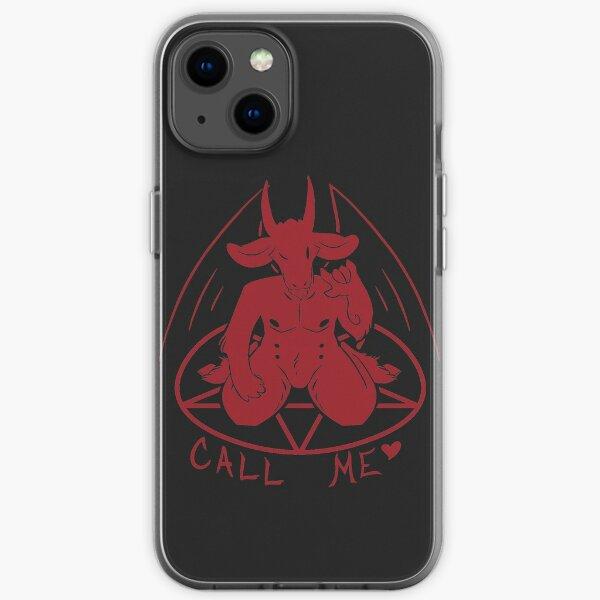 Ruf mich an iPhone Flexible Hülle
