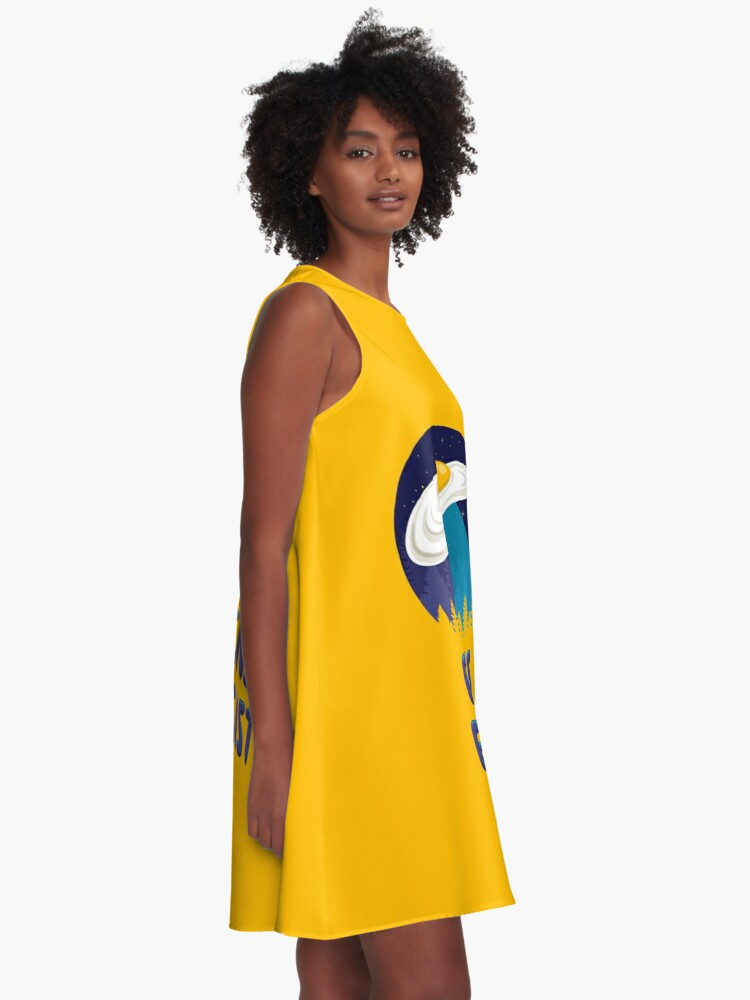 Alternate view of Aliens Eggsist A-Line Dress