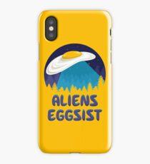 Aliens Eggsist iPhone Case