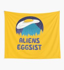 Aliens Eggsist Wall Tapestry