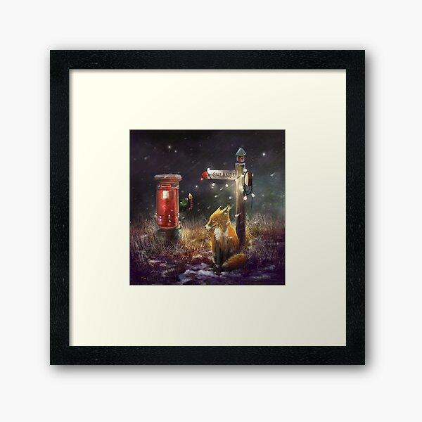 """""""Postfox"""" Framed Art Print"""