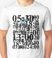Blurring Times Unisex T-Shirt