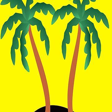 Coconut - Leaf - Art by kevit