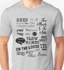 Flicker Songs | Niall Horan Unisex T-Shirt
