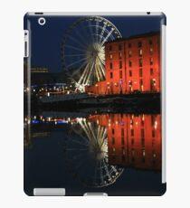 Night time at Salthouse Dock iPad Case/Skin