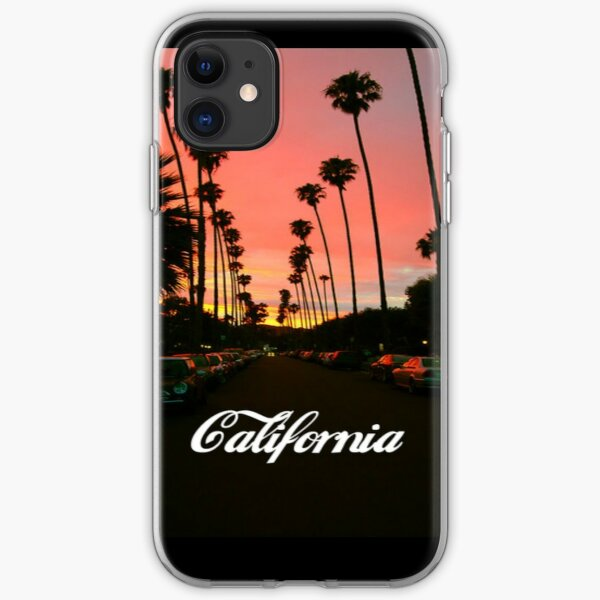 California (Tumblr style) iPhone Soft Case