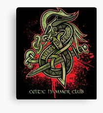Dragon Slayer (Green) Canvas Print