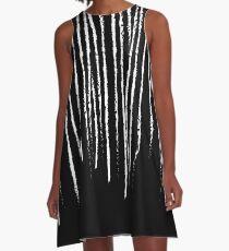 Good Cheer Scratch Waterfall A-Line Dress