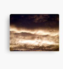 Evening Clouds #2 Canvas Print