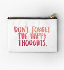 Bolso de mano No olvides los felices pensamientos