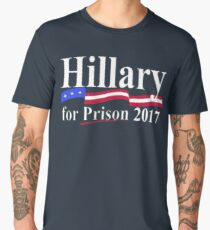 HILLARY FOR PRISON 2017 Men's Premium T-Shirt