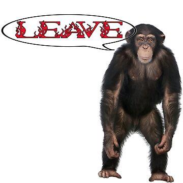 monkey monkey by autrouvetout