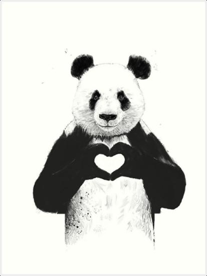 Schöner Panda von autrouvetout