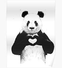 Lovely Panda Poster