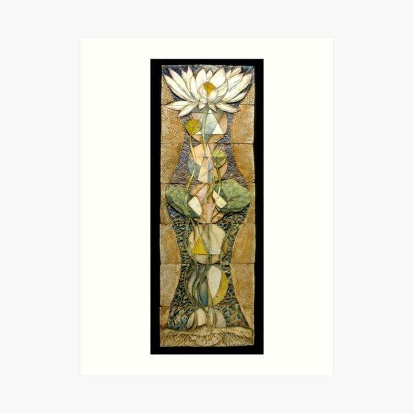 Lotus I: sacred geometry Art Print