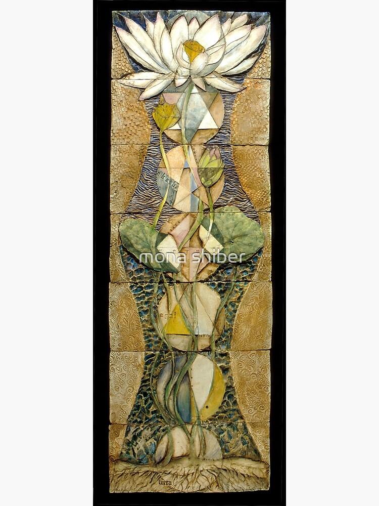 Lotus I: sacred geometry by MonaShiber