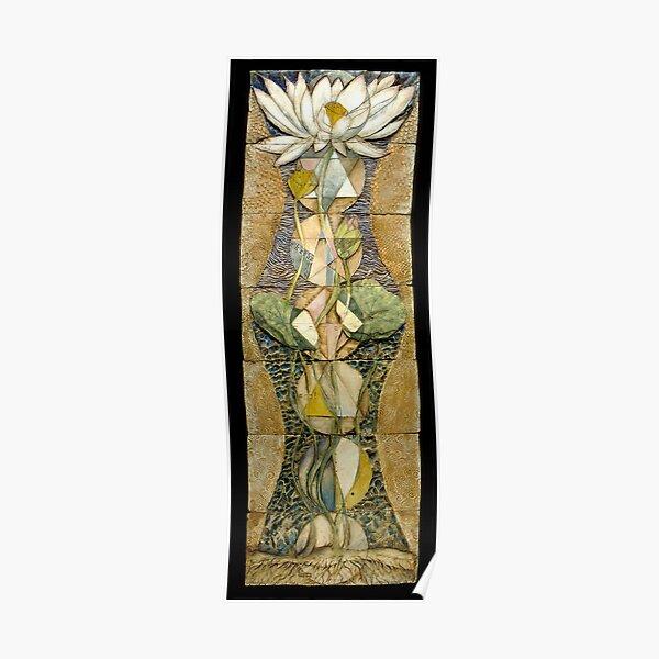 Lotus I: sacred geometry Poster