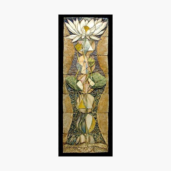 Lotus I: sacred geometry Photographic Print