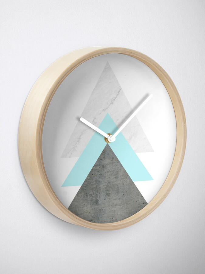 Alternate view of Arrows Collage Clock