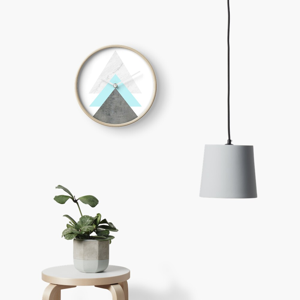 Arrows Collage Clock