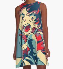 Boku kein Held Academia Midoriya A-Linien Kleid