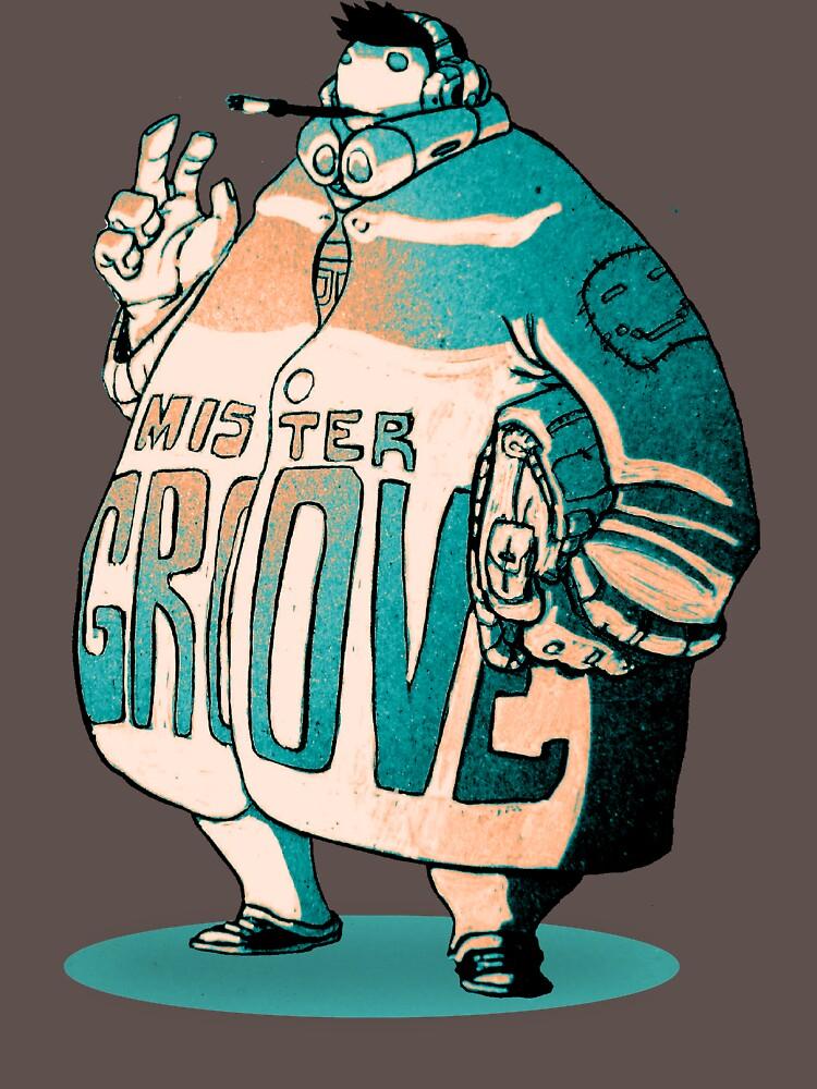 MR GROOVE.   Unisex T-Shirt