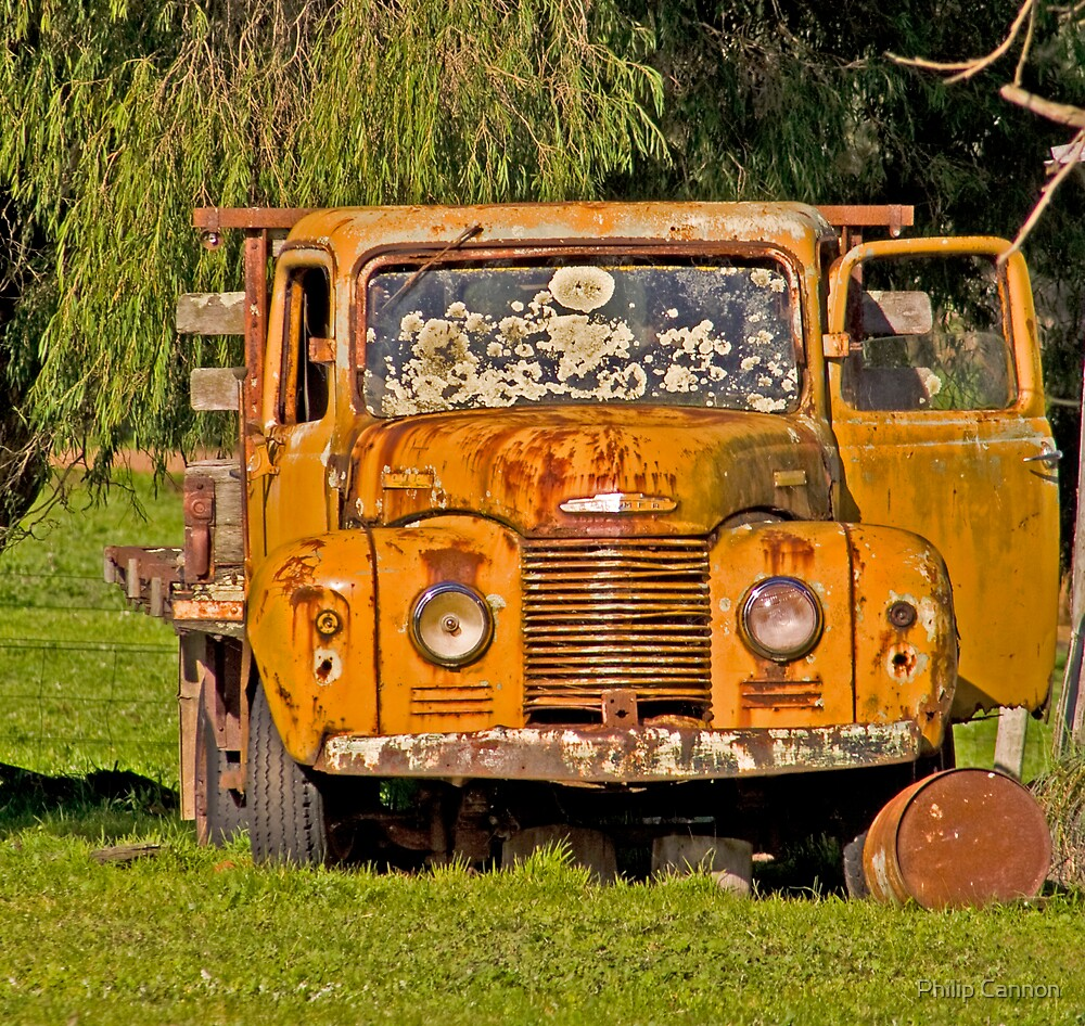 Old Truck by Philip Cannon