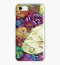 Colorful dice iPhone Case/Skin