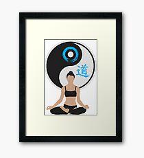 Jing Jang - Harmony - Yoga - Joga Framed Print
