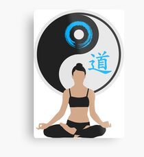 Jing Jang - Harmony - Yoga - Joga Metal Print