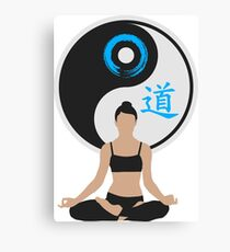 Jing Jang - Harmony - Yoga - Joga Canvas Print
