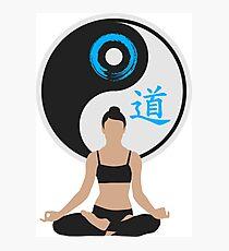 Jing Jang - Harmony - Yoga - Joga Photographic Print