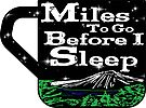Miles To Go Before I Sleep Hiking Hike Hiker Coffee Nature Frost Outdoors by MyHandmadeSigns