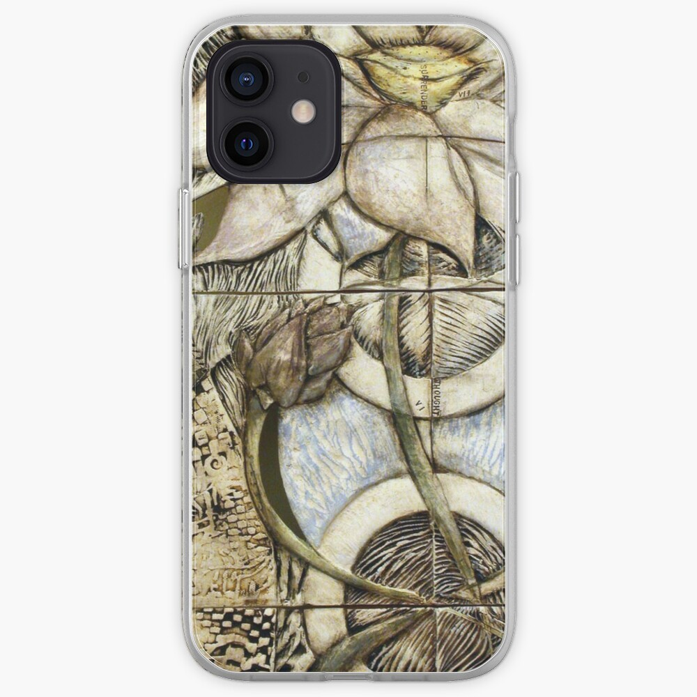 Lotus V: subtle energy (detail) iPhone Case & Cover
