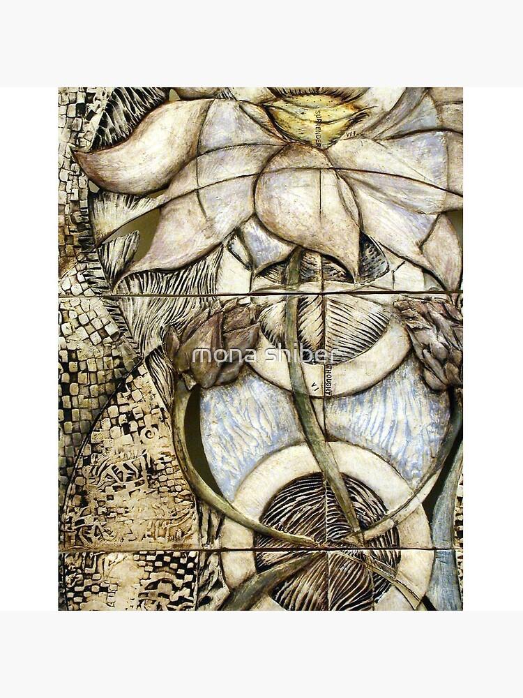 Lotus V: subtle energy (detail) by MonaShiber