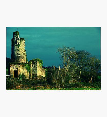 Rural Tower In Acidic Light  Photographic Print