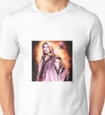 The 13th doctor and assistant.  T-Shirt