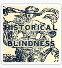 Historical Blindness podcast logo Sticker