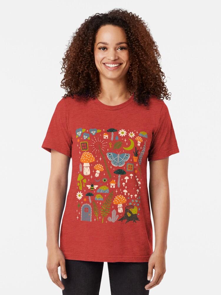 Alternative Ansicht von Märchengarten Vintage T-Shirt