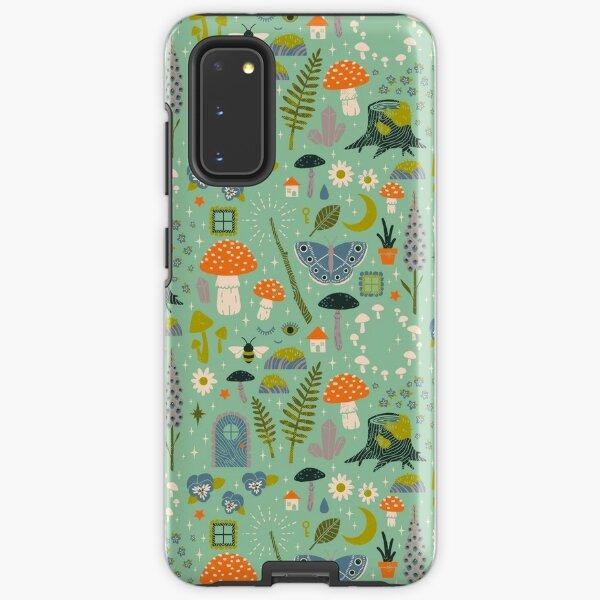 Fairy Garden Samsung Galaxy Tough Case