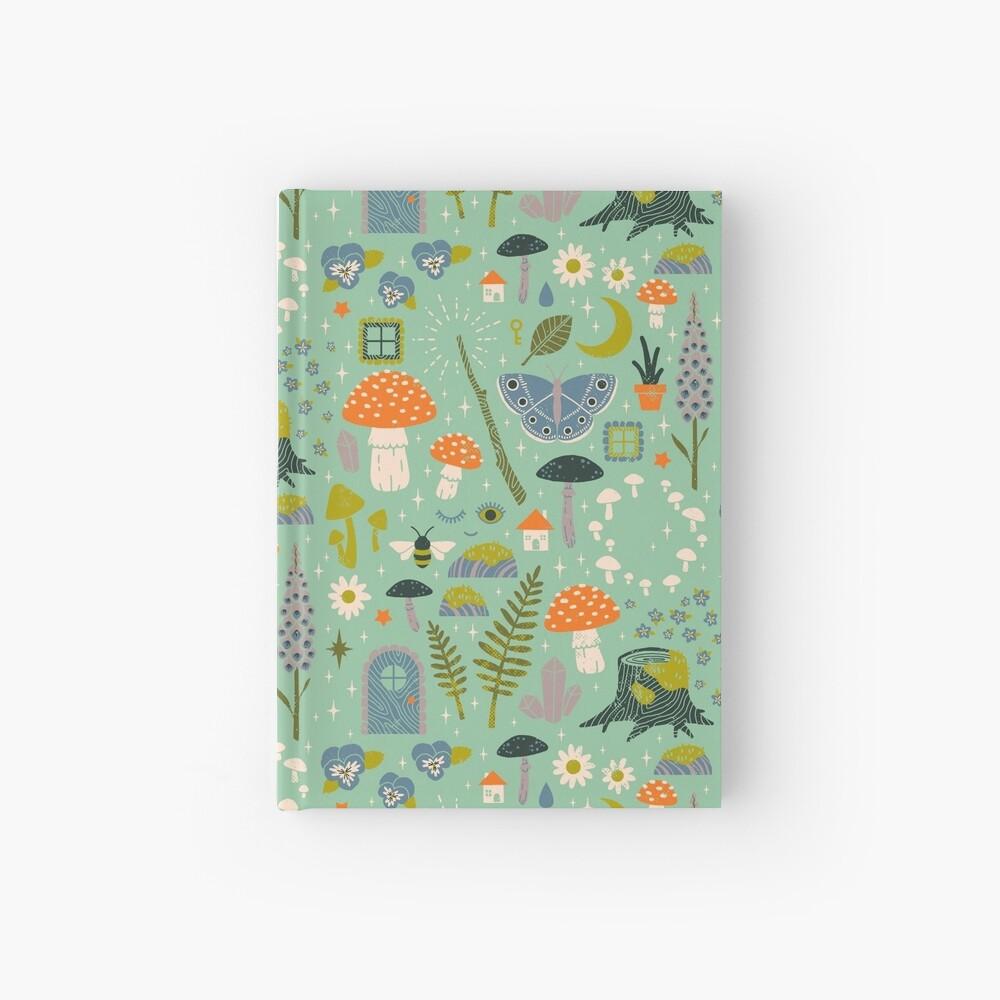 Fairy Garden Hardcover Journal