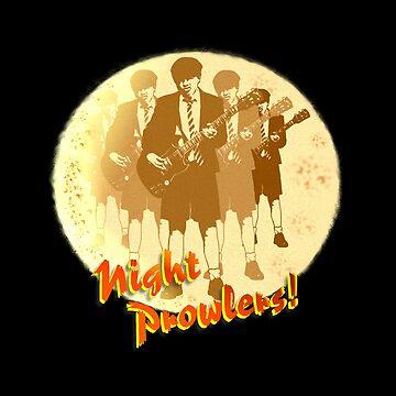 Night Prowlers! by hoganartgarage