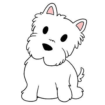 west highland white terrier cartoon by marasdaughter