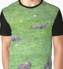 Rodents romping Graphic T-Shirt